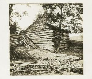 Daniel Boone's cabin -New York Public Library