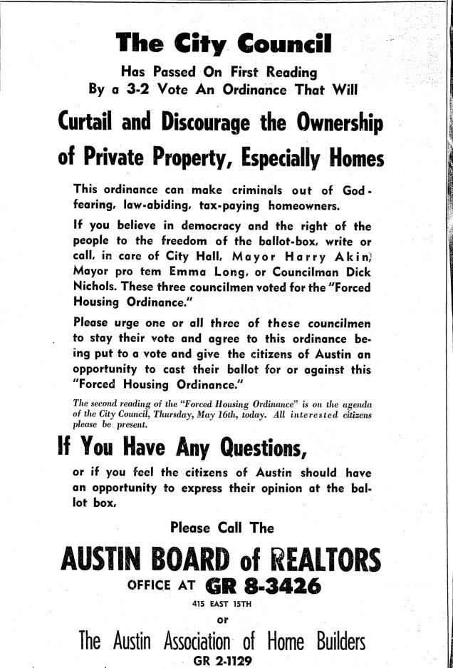 Austin Statesman, May 16, 1968