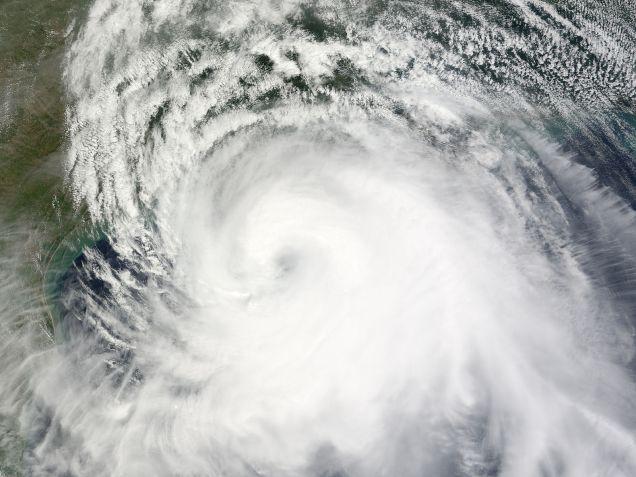 Hurricane Ike struck the Gulf Coast on Sept. 12, 2008. (Photo: NASA / Creative Commons)