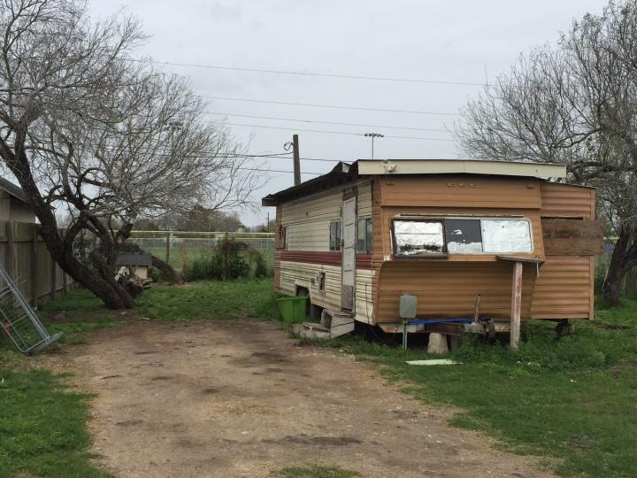 Miriam Hernandez's former home in Raymondville.