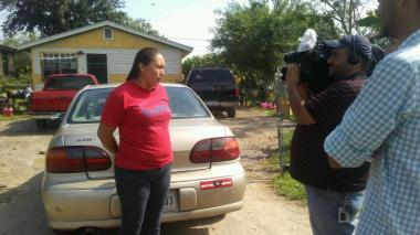 Lupe Leader Speaking on Drainage