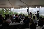Texas Housers co-director Chrishelle Palay introduces the leaders of the Sunnyside Neighborhood Plan.