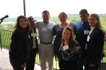 Staff and clients of event sponsor the Housing Authority of the City of Austin.
