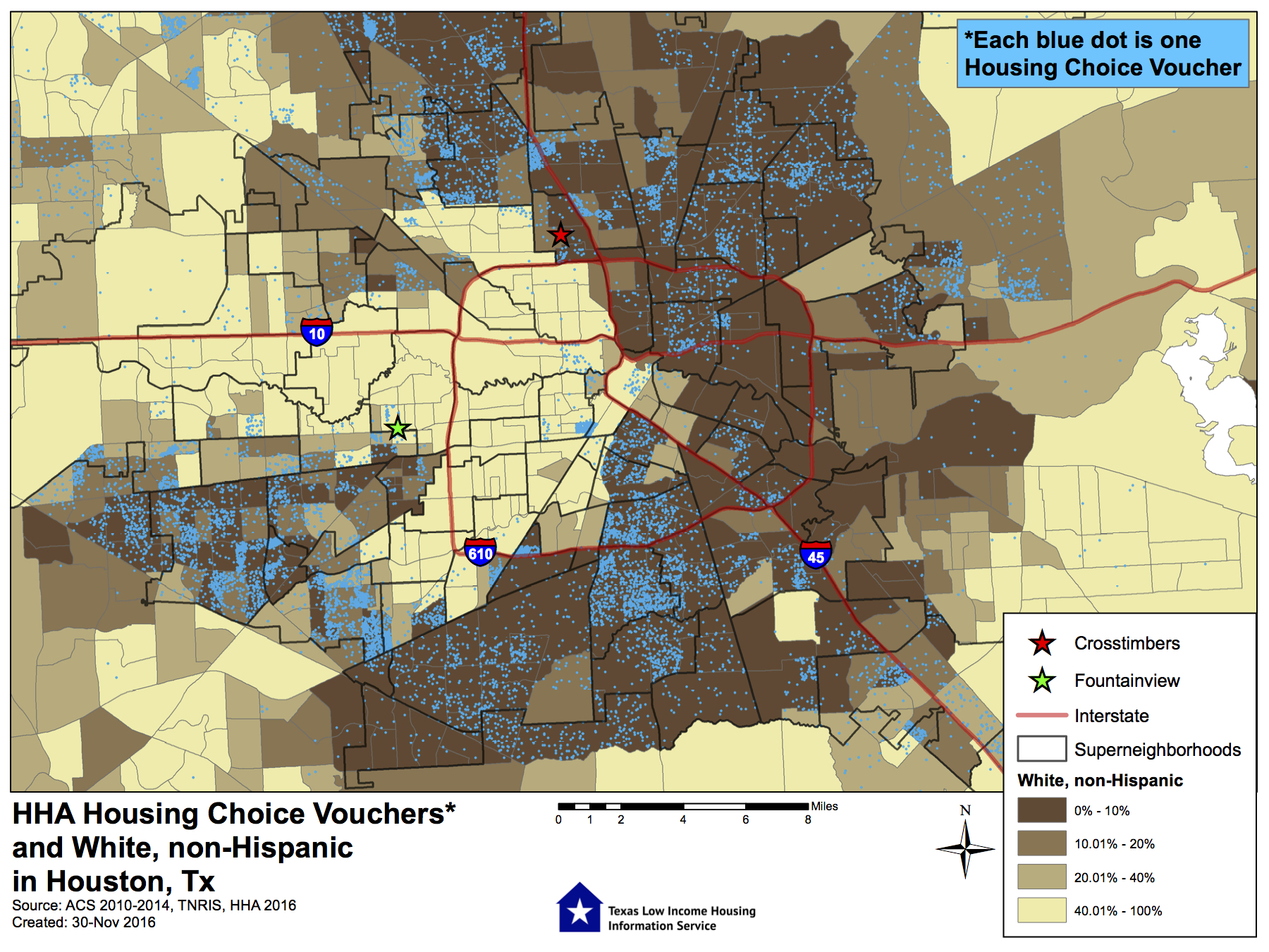How City actions perpetuate Houstons housing segregation and