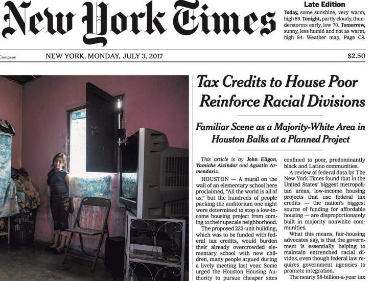 New York Times: Houston